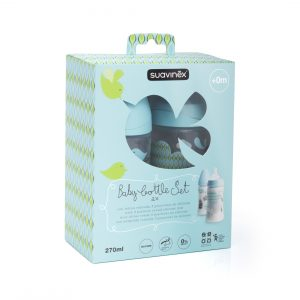 Baby Bottle Set Suavinex - Verde