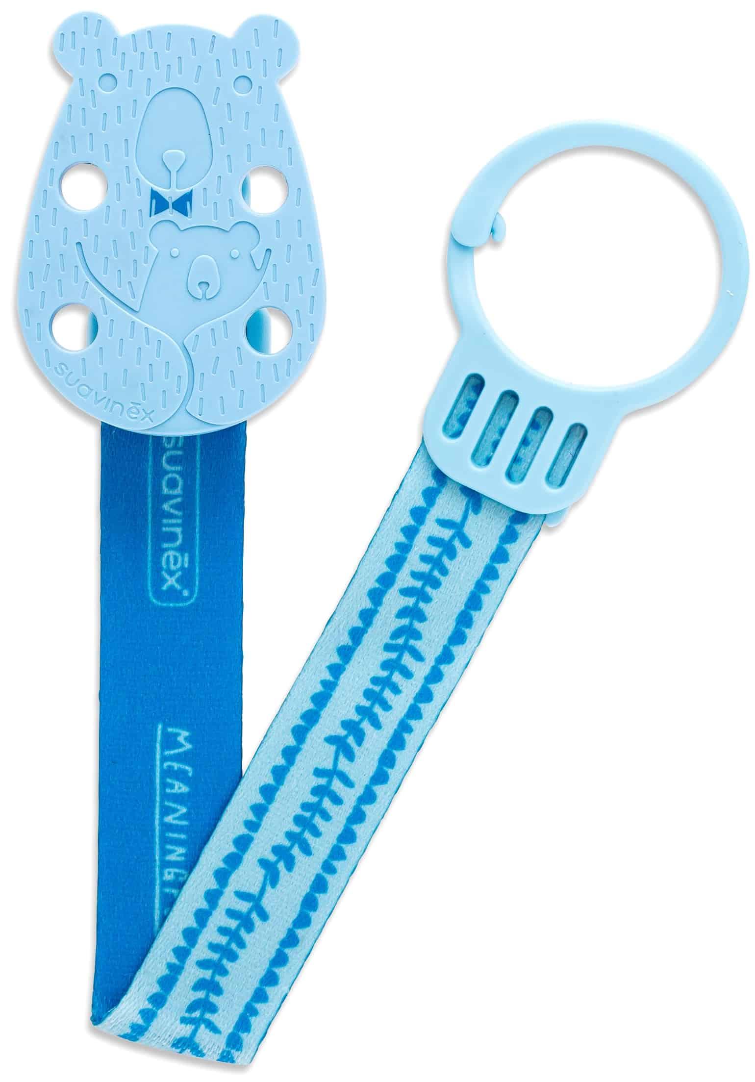 Clip Cinta Oso Suavinex - Azul