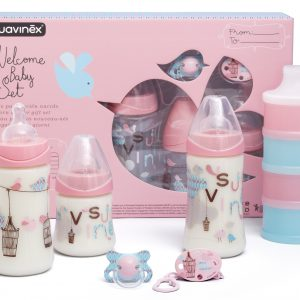 Welcome Baby Set Suavinex - Rosa