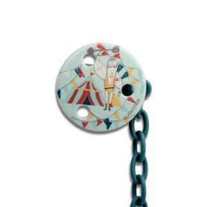 Clip Redondo Cadenita Suavinex - Circo Verde