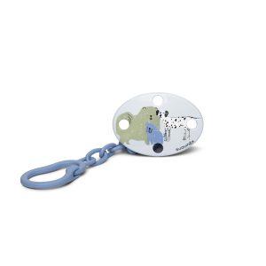 Clip Ovalado Cadenita Suavinex - Perro Verde